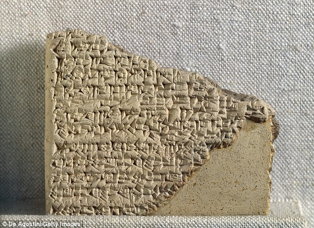 Clay tablets written by a man called Kisir Ashur were written at the end of the seventh century BCE and were originally found in the ancient remains of the city of Ashur