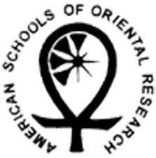 20184548 ASOR american school of orental research