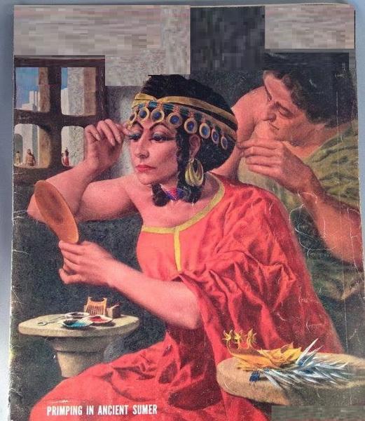 5bfef0c2094c0 الصورة   الملكات السومريات في العراق القديم - مجلة لايف   سلام طه